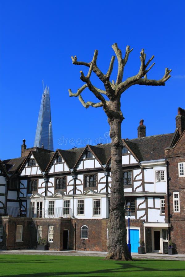 basztowy London śmiały drzewo zdjęcie royalty free