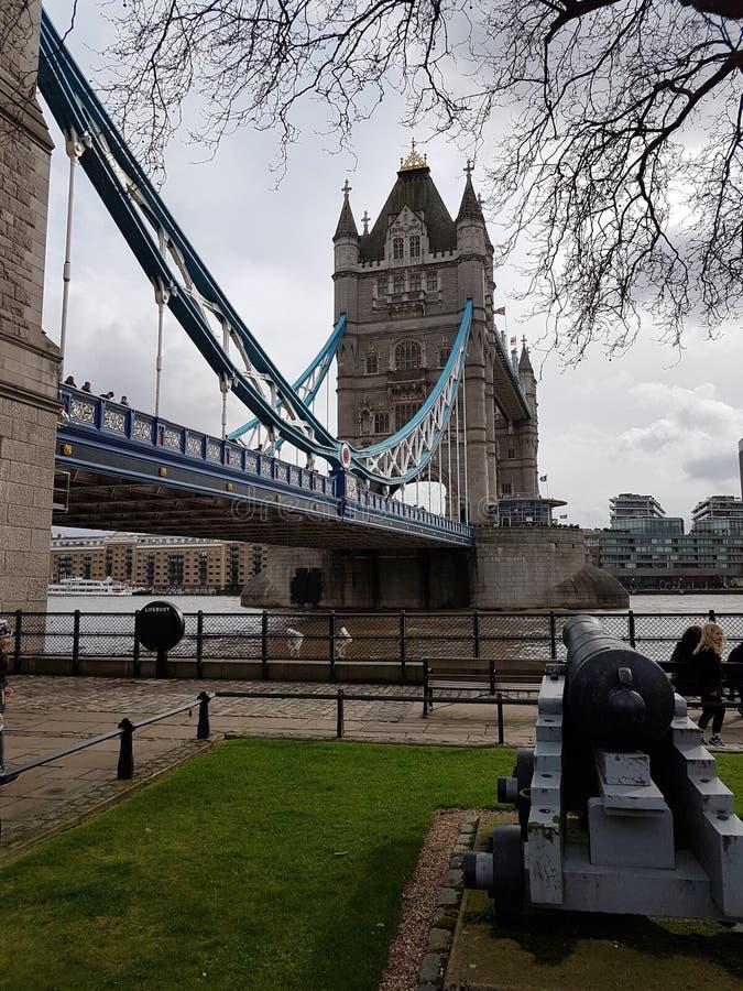 Basztowy most zdjęcie royalty free