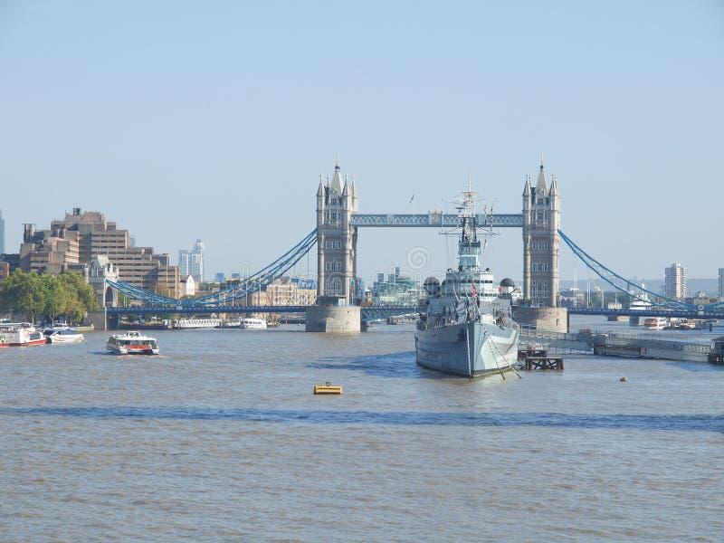 Basztowy most, Londyn fotografia royalty free