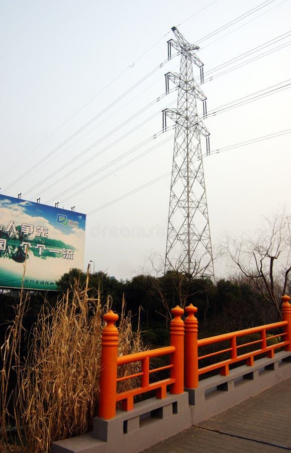 basztowy Shanghai porcelanowy przekaz obraz royalty free