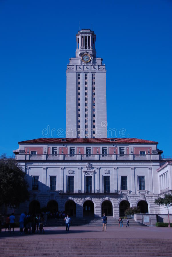 basztowy Texas uniwersytet obraz royalty free