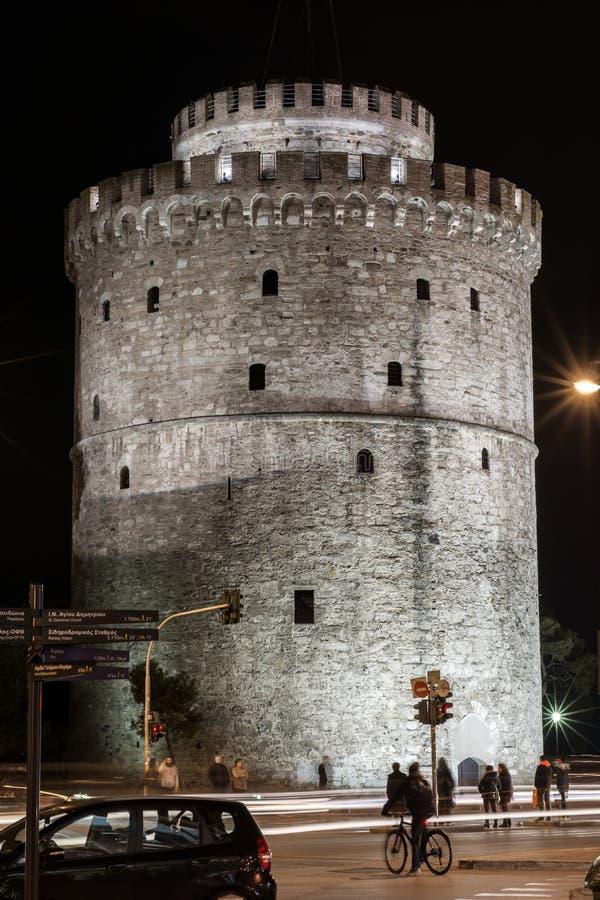 basztowy Thessaloniki biel obrazy royalty free