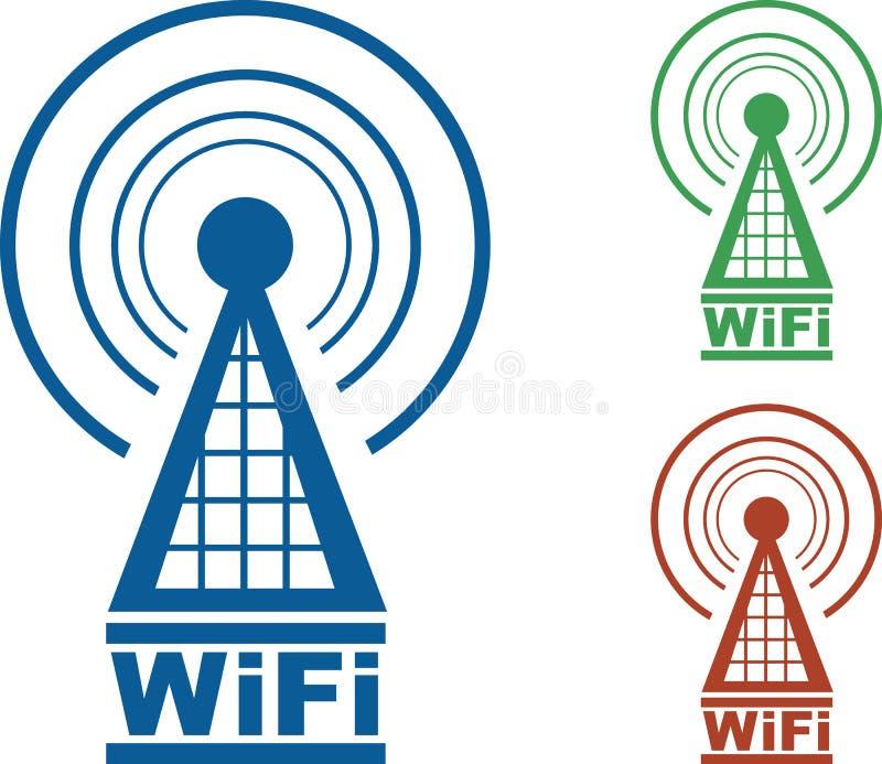 basztowy wifi ilustracji