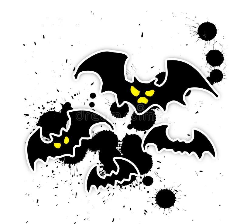 'bat' [02] illustration libre de droits