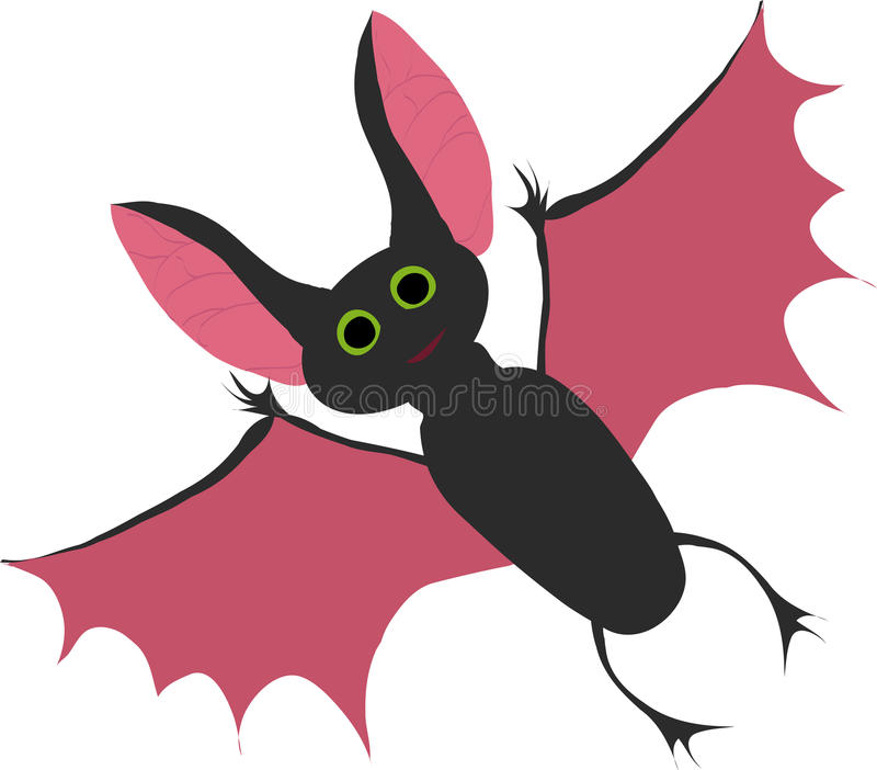 Download Bat stock vector. Image of nature, animal, isolated, hunter - 11809772