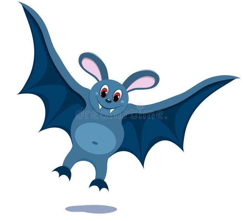 The bat. royalty free illustration