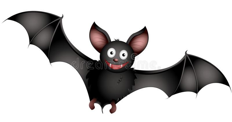 Bat stock illustration