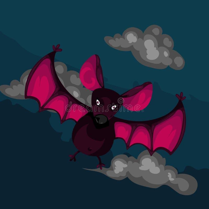 Download Bat stock vector. Image of purple, nature, humor, mammal - 22093565