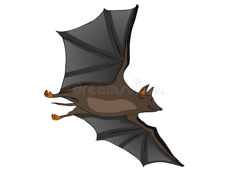 Download Bat stock vector. Image of mascot, silhouette, creature - 22271749