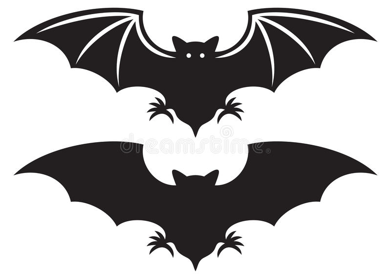 Bat royalty free illustration