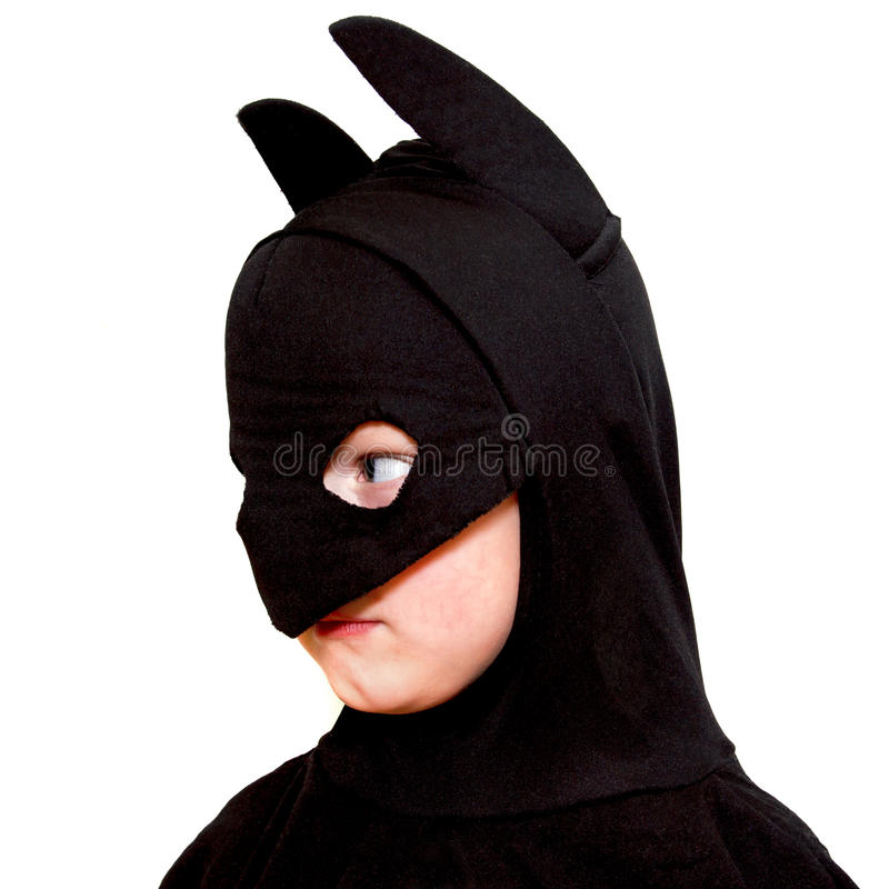 Download Bat child stock photo. Image of side, carnival, batman - 28901372