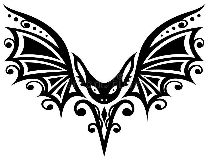 bat halloween stock vector illustration of creature 52135876. Black Bedroom Furniture Sets. Home Design Ideas