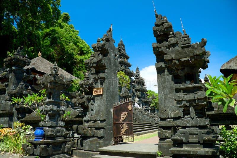 Bat temple Goa Lawah, Bali royalty free stock image