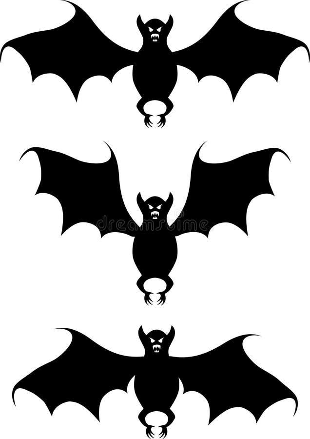 'bat'. Une forme. illustration libre de droits