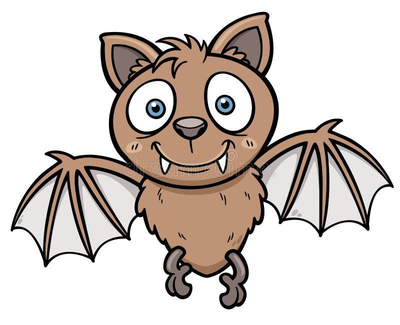 Bat. Vector illustration of Cartoon bat stock illustration