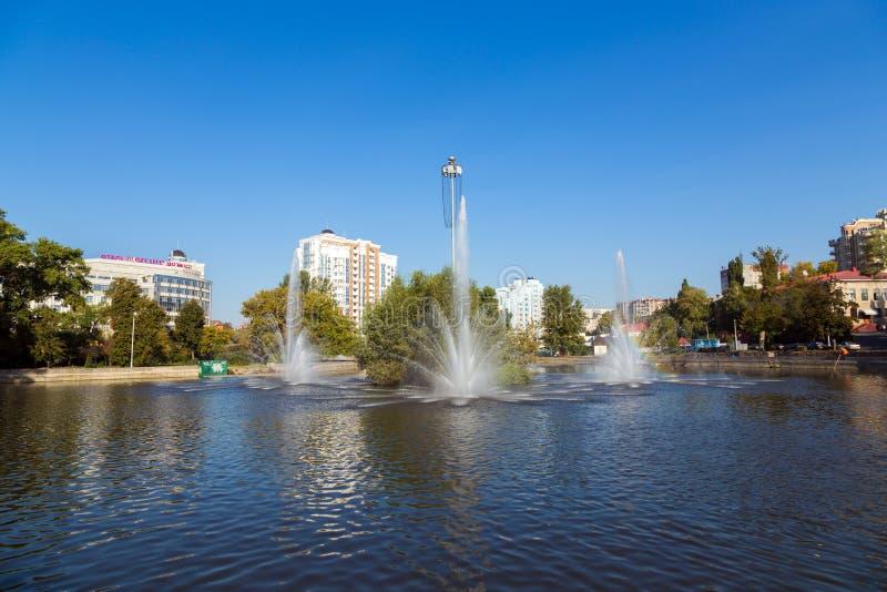 Bataille de diorama de Kursk Belgorod Russie images libres de droits