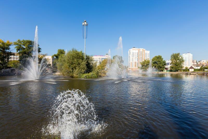 Bataille de diorama de Kursk Belgorod Russie photos libres de droits