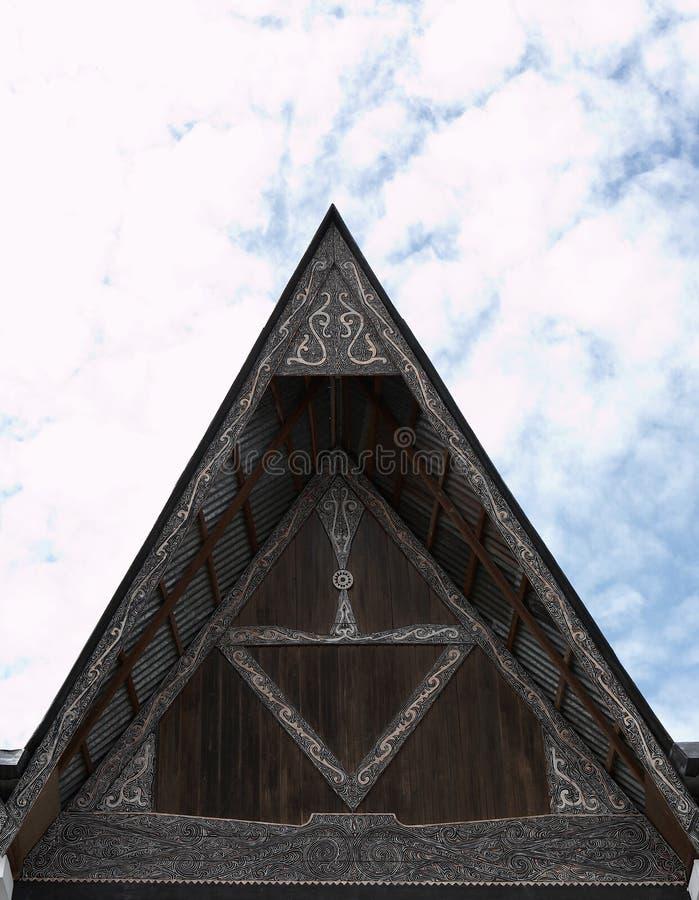 batak σπίτι στοκ φωτογραφία με δικαίωμα ελεύθερης χρήσης
