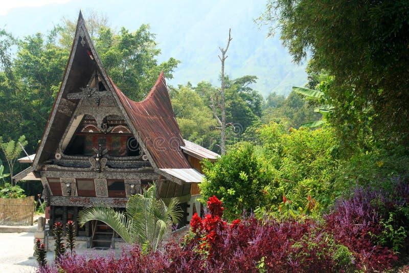 Batak Haus lizenzfreies stockfoto