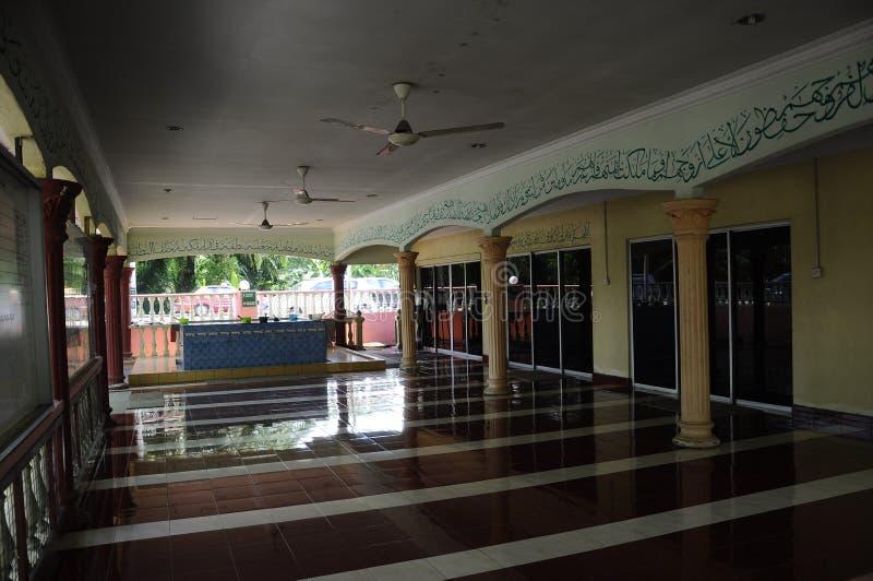 Batak Rabit Mosque in Teluk Intan, Perak. PERAK, MALAYSIA – DECEMBER 2014: Batak Rabit Old Mosque in Teluk Intan Perak on December 11, 2014 stock photography