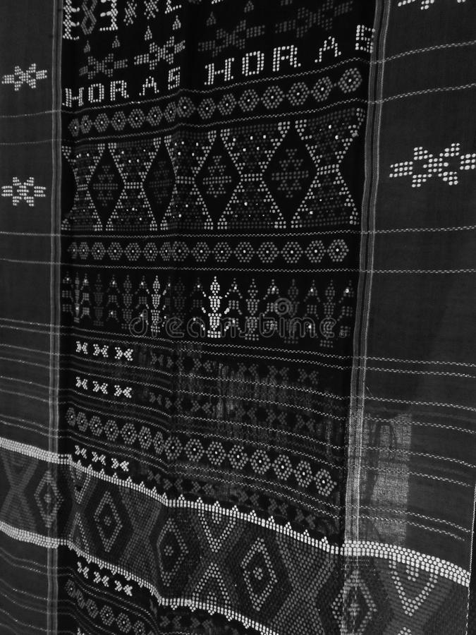 Bataknese Traditional Cloth stock images