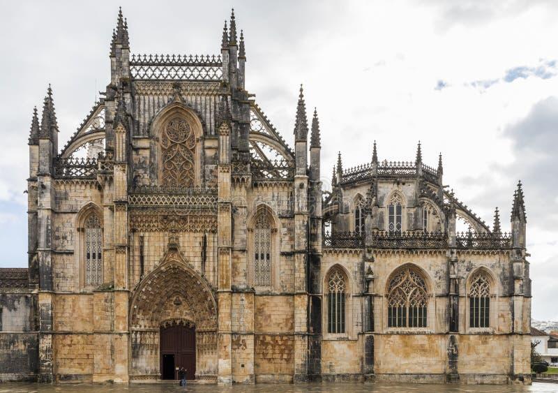 batalha修道院葡萄牙 免版税图库摄影