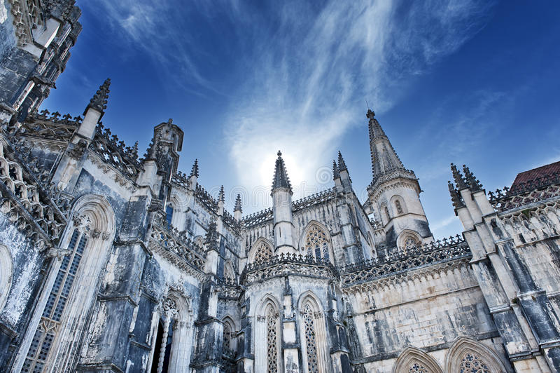 Batalha Abbey stock images