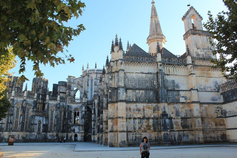 batalha da玛丽亚修道院葡萄牙圣诞老人vitoria 免版税库存照片