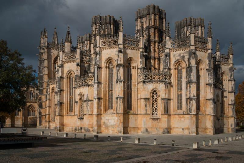 Batalha Kloster, Portugal stockfotografie
