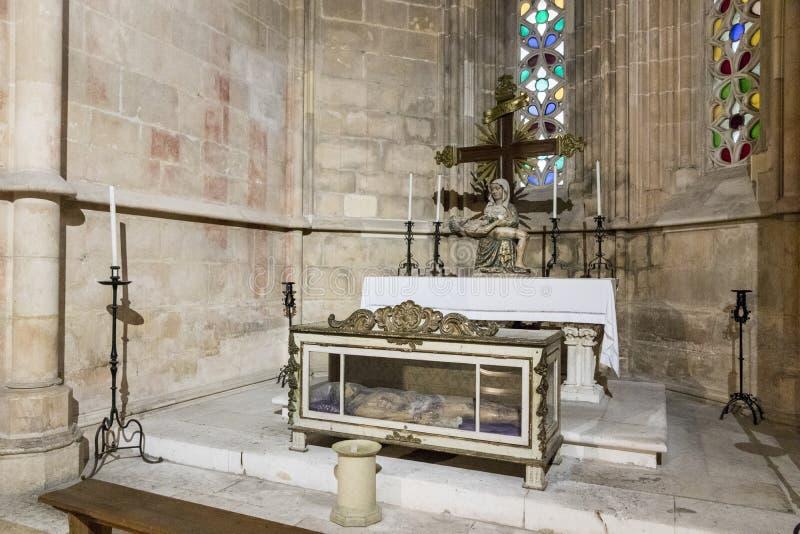 Batalha Kloster, Portugal stockbilder