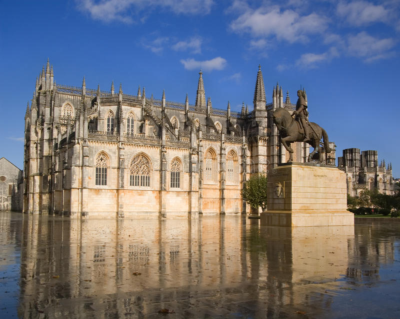 Batalha monastery stock photos