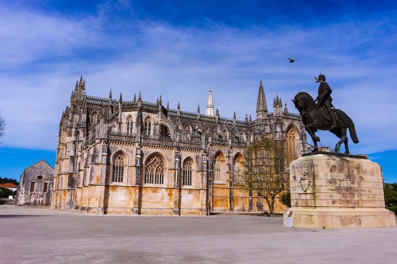 Batalha, Portugal Monast?re de Batalha Style gothique et de Manuelino ou de Manueline image stock