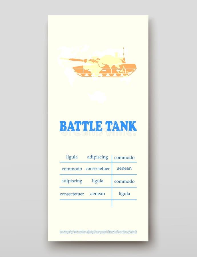 Batalistycznego zbiornika ulotki pokrywy prezentacji abstrakt, układ technologii sprawozdania rocznego broszurki ulotki projekta  ilustracja wektor