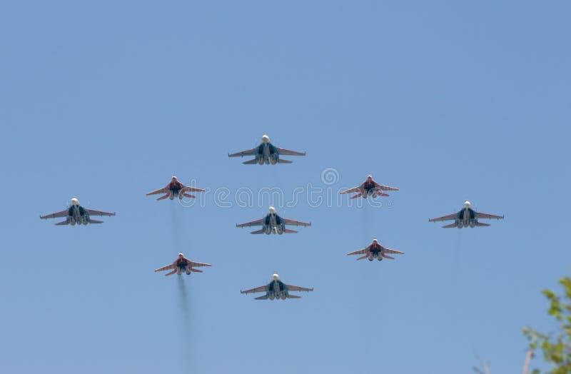 batalistycznej grupy samoloty obrazy royalty free