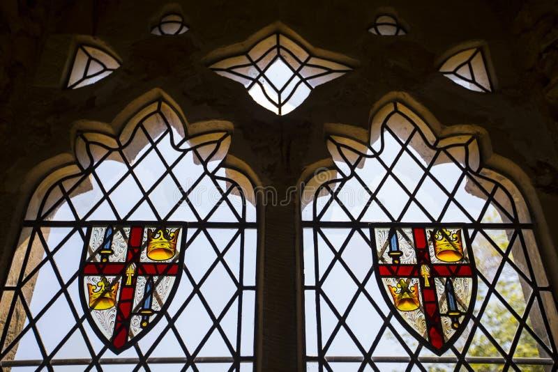 Batalla Abbey Coat de brazos fotos de archivo libres de regalías