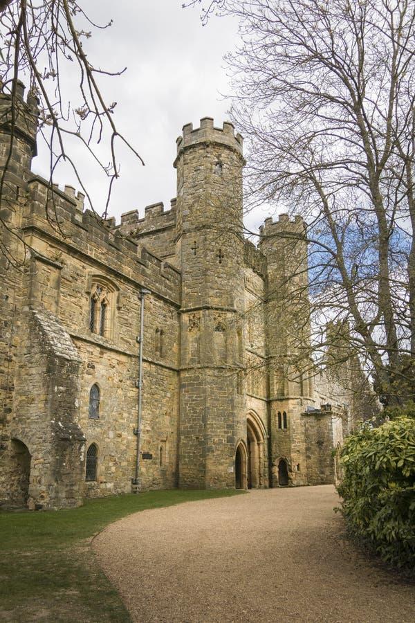 Batalla Abbey Gatehouse, Sussex, Reino Unido fotografía de archivo libre de regalías