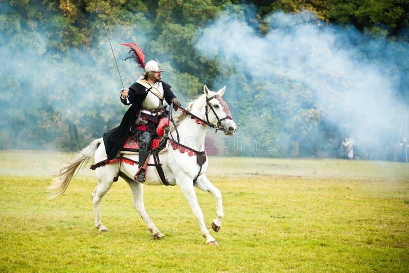 Batalla de la montaña blanca 2016 imagen de archivo libre de regalías