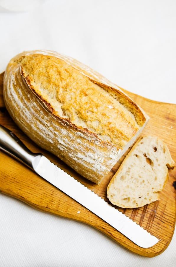 Batard gevormd brood stock foto