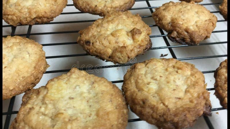 Batata Chip Cookies fotos de stock