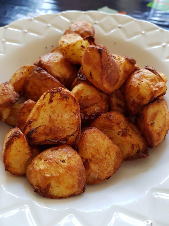 Batatas assadas friáveis foto de stock royalty free