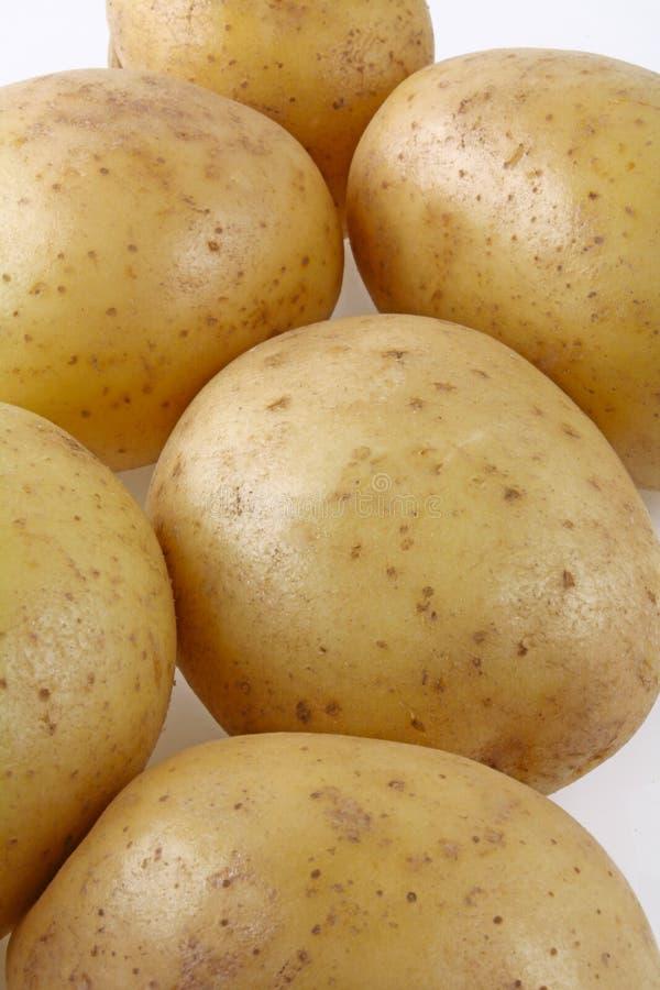 Batatas com pele imagens de stock royalty free