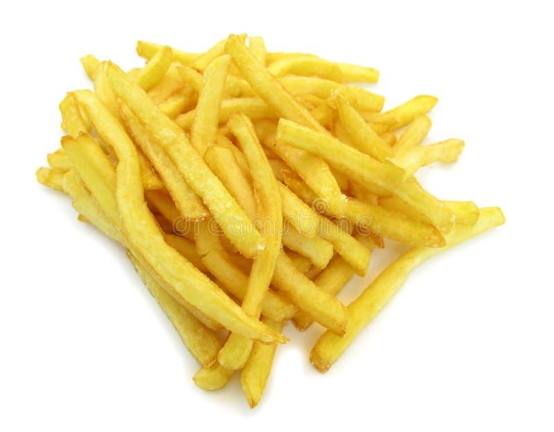 Batatas de fritadas francesas imagens de stock
