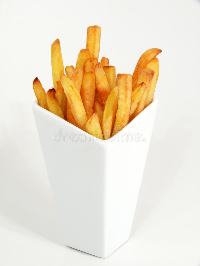 Batatas de fritadas francesas foto de stock royalty free