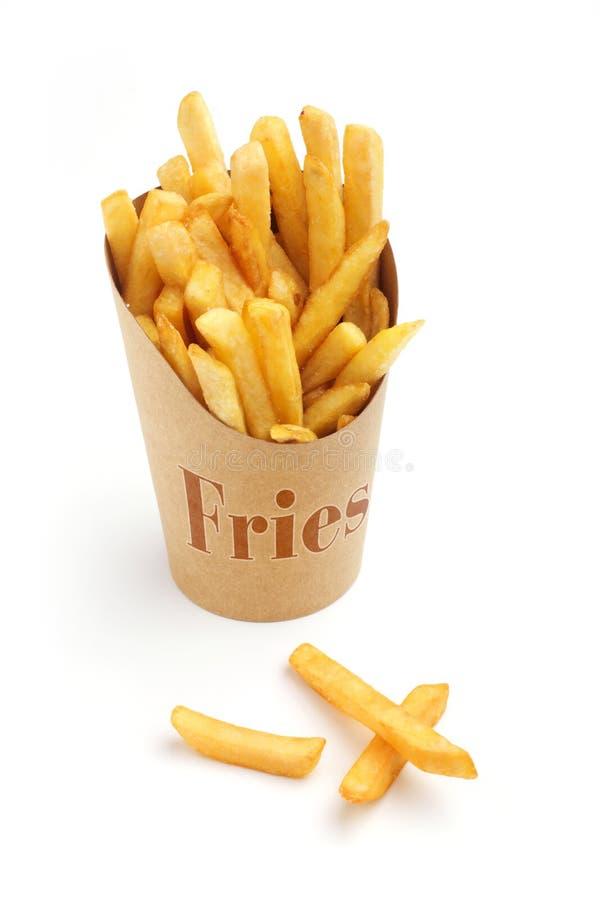 Batatas fritas fotografia de stock royalty free