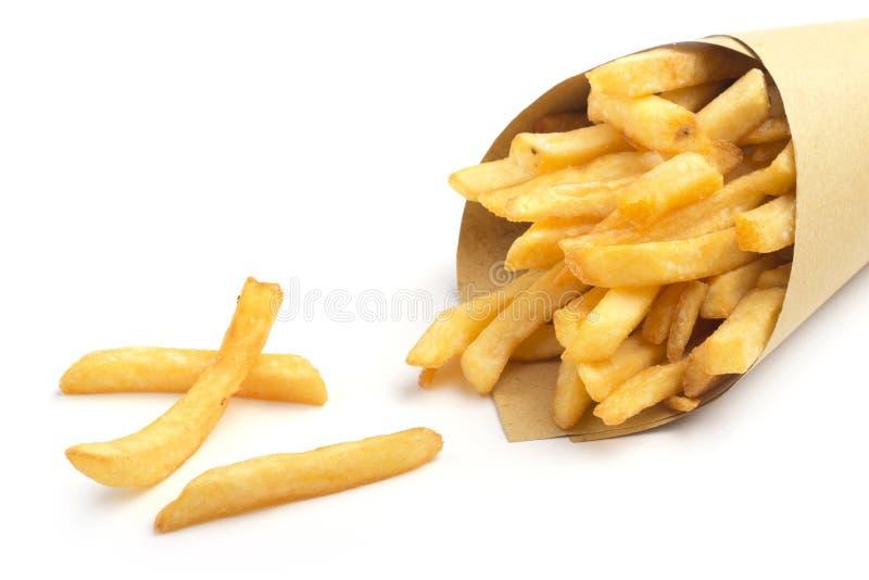 Batatas fritas foto de stock