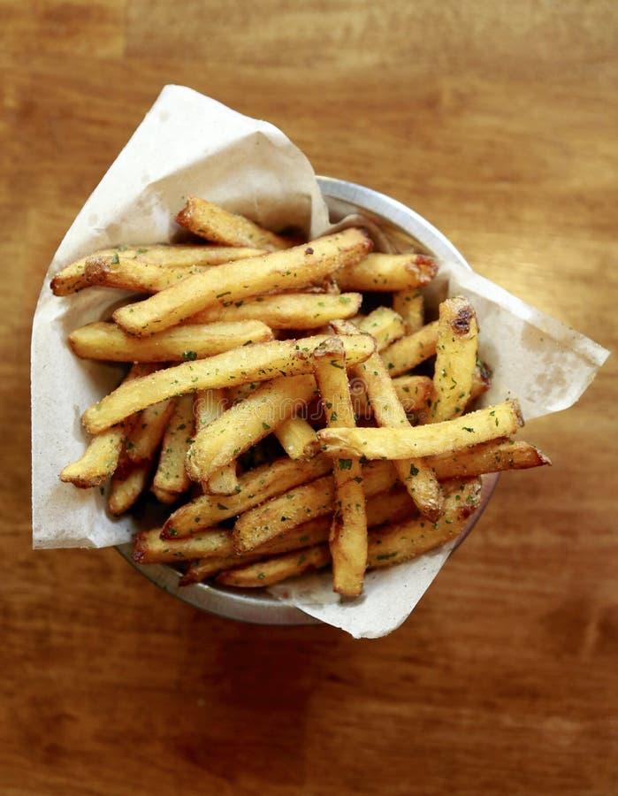 Batatas fritas imagem de stock
