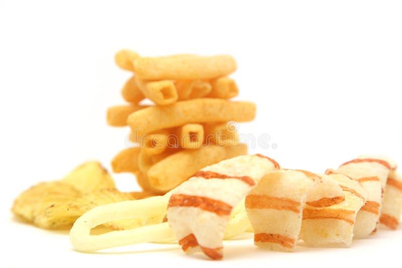 Batatas fritas de batata fotos de stock