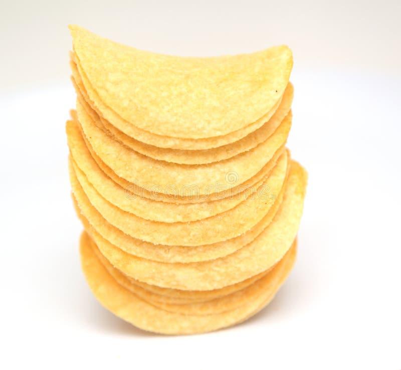Batatas fritas de batata imagem de stock royalty free