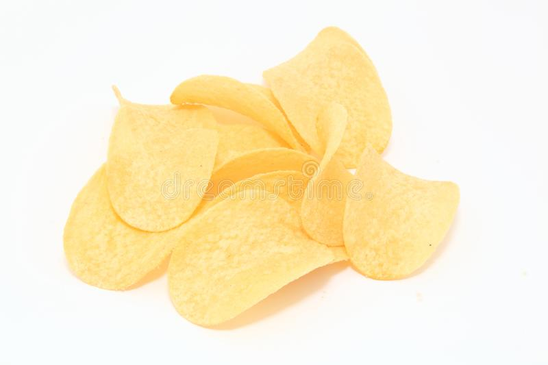Batatas fritas de batata fotos de stock royalty free