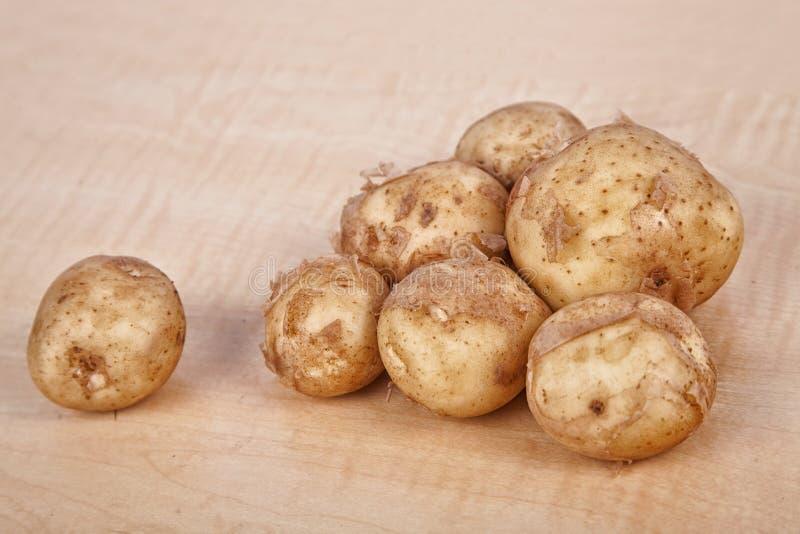 Batatas novas imagem de stock royalty free